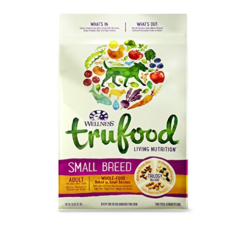 wellness-trufood-baked-blends-natural-grain-free-dry-raw-small-breed-dog-food-chicken-10-pound-bag