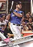 2017 Update Series #US180 Mike Moustakas Kansas City Royals Baseball Home Run Derby Card