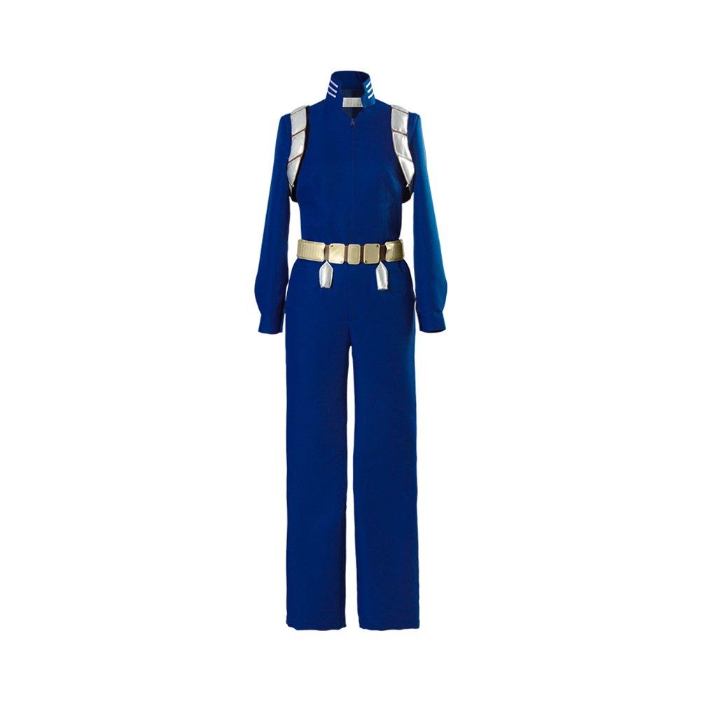NoveltyBoy Boku no Hero Academia My Hero Academia Season 2 S2 Shouto Todoroki Battle Cosplay Costume (Female:Medium) Blue by NoveltyBoy