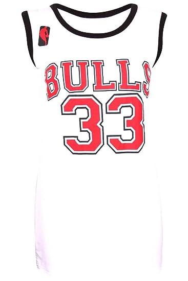 Camiseta de baloncesto para mujer, de los Chicago Bulls de la NBA ...