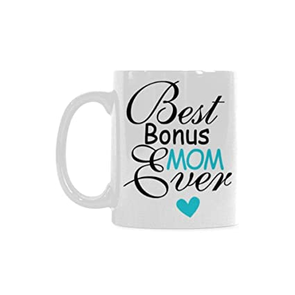 a76d6e4f01c WECE Cheap Coffee Mug - Funny Birthday Present From Your Favorite  Child,Best Bonus Mom Ever Coffee Mug Cup, Awesome Birthday Present For ...