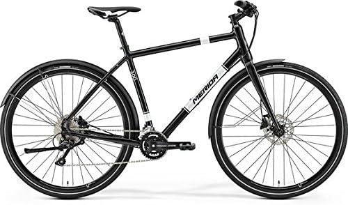 Merida Crossway Urban 300 28 pulgadas Urban Bike Negro/Blanco (2017), tamaño 48: Amazon.es: Deportes y aire libre