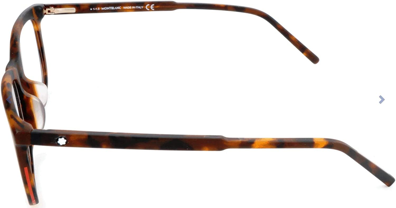 Mehrfarbig MONT BLANC MB0553-F Mont Blanc Brillengestelle MB0553-F Rechteckig Brillengestelle 56