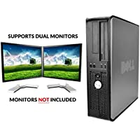Dell Optiplex, Core 2 Duo 3.0Ghz, 1TB Hard Drive, 8GB Memory, Dual Monitor Ready (Monitors Not Included), Windows 10 Pro (Certified Refurbished)