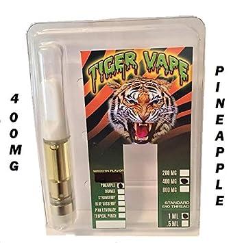 Amazon com: Hemp Oil 400 mg 1 ml Vape Cartridge Flavor Pineapple