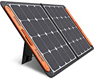 Jackery SolarSaga 100W Portable Solar Panel for Explorer 160/240/500/1000 Power Station, Foldable US Solar Cel