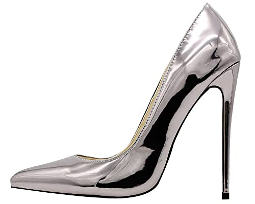 6a4679d6dbf Amazon.com   MONICOCO Women's Pointed Toe High Heels Dress Party ...