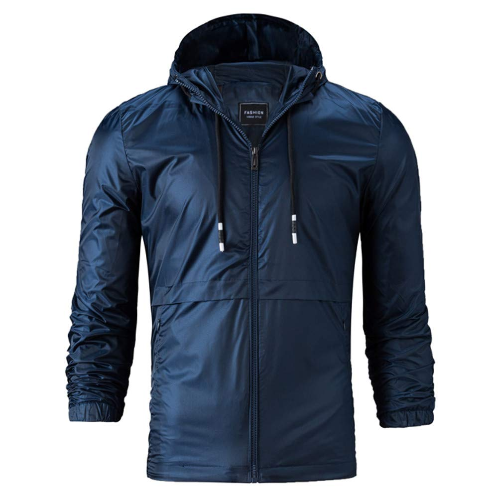 Mens Fur Coats Jackets for Men.Mens Autumn Winter Casual Style Loose Hooded Pure Color Jacket Coat