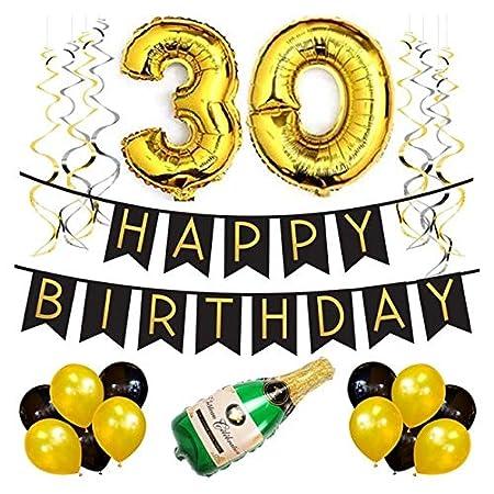 Bluelover 30 Cumpleaños Decorados para La Mejor Fiesta De 30 ...