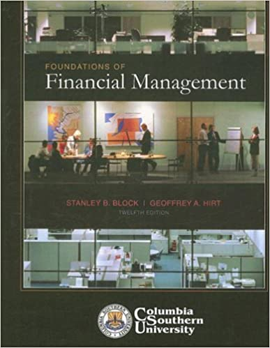 Foundations of financial management stanley b block professor foundations of financial management 12th ed edition fandeluxe Gallery