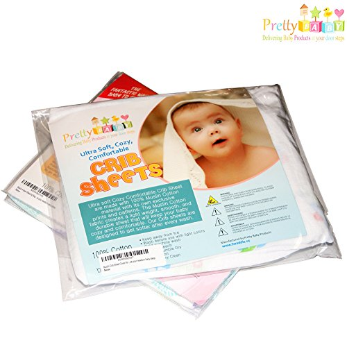 Todays-Sale-Crib-Sheet-for-Boy-or-Girl-Infant-Crib-Sheets-are-Soft-Breathable-Fitted-Crib-Sheets-for-Baby-Shower-Gifts-Baby-Crib-Fitted-Sheets-fits-Pack-n-Play-Bassinet-Sheets-Toddlers-Sheets