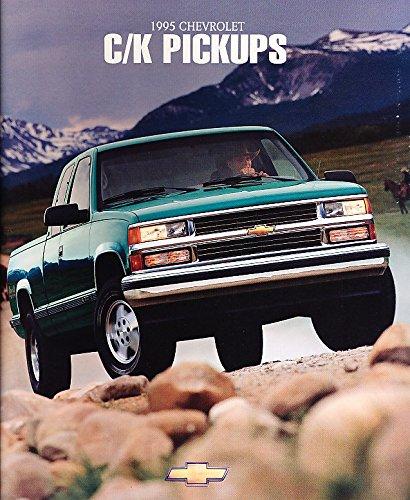 1995 Chevrolet Chevy C/K Pickup Silverado Truck Original Sales Brochure Catalog - C1500 K1500