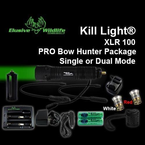 Kill Light® XLR 100 Dual Mode PRO Bow Light Package