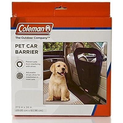 Coleman Pet Car Barrier, Black