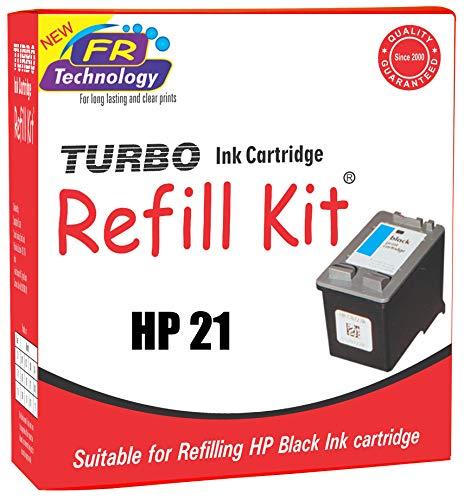 Turbo Ink Cartridge Refill Kit For HP 21 Black Ink Cartridge