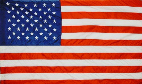 Valley Forge Flag 8 x 12 Foot Large Commercial-Grade Nylon US American Flag by Valley Forge Flag