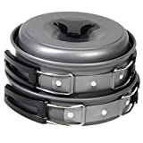 8pcs Outdoor Camping Cookware Cooking Picnic Bowl Pot Pan Set Backpacking - Best Reviews Guide