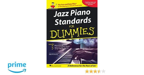 Jazz Piano Standards For Dummies Hal Leonard Corp 9781423473879