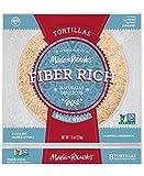 #5: Low Carb Tortillas, 3 Net Carbs, Non-GMO Project Verified, Maria and Ricardo's Fiber Rich Whole Wheat Tortillas, Certified Vegan, Keto-Friendly, 7.9 oz. (1 Pack)