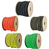 "Paracord Planet 1/4"" Elastic Cord Crafting Stretch String..."