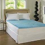 Simmons Beautyrest Comforpedic Loft from Beautyrest Dorm 3-inch Textured Gel Memory Foam Mattress Topper Twin XL