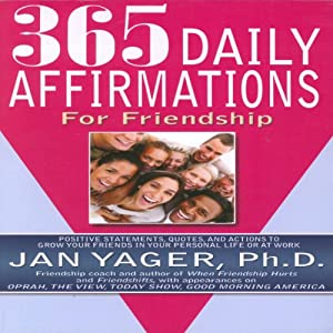 365 Daily Affirmations for Friendship Audiobook