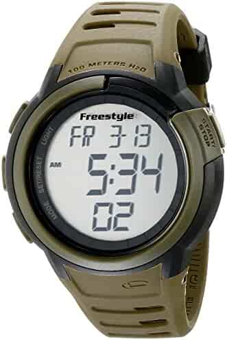 Freestyle Men's Mariner Green Digital Watch