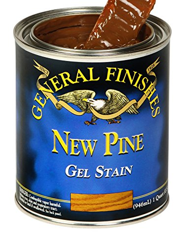 General Finishes NPQ Oil Base Gel Stain, 1 Quart, New Pine
