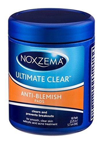Noxzema Ultimate Clear Pads Anti Blemish 90 ct ()