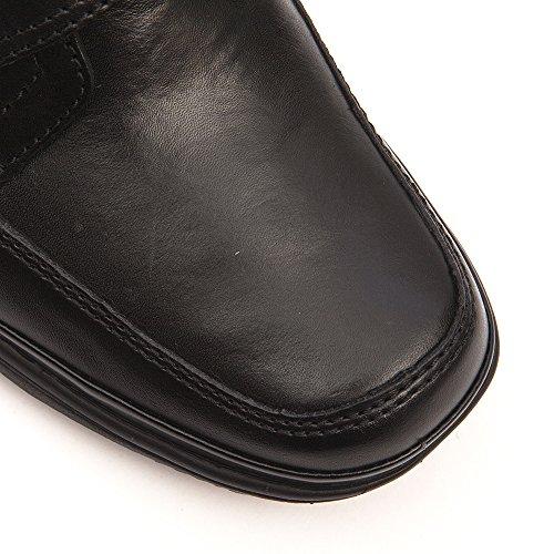 All para negro negro Turn Clarks hombre Swift Botas Fits de Negro One cuero Size wqn7H4Cg