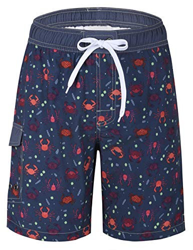 (Unitop Men's Short Boardshorts Summer Blue-255 28)
