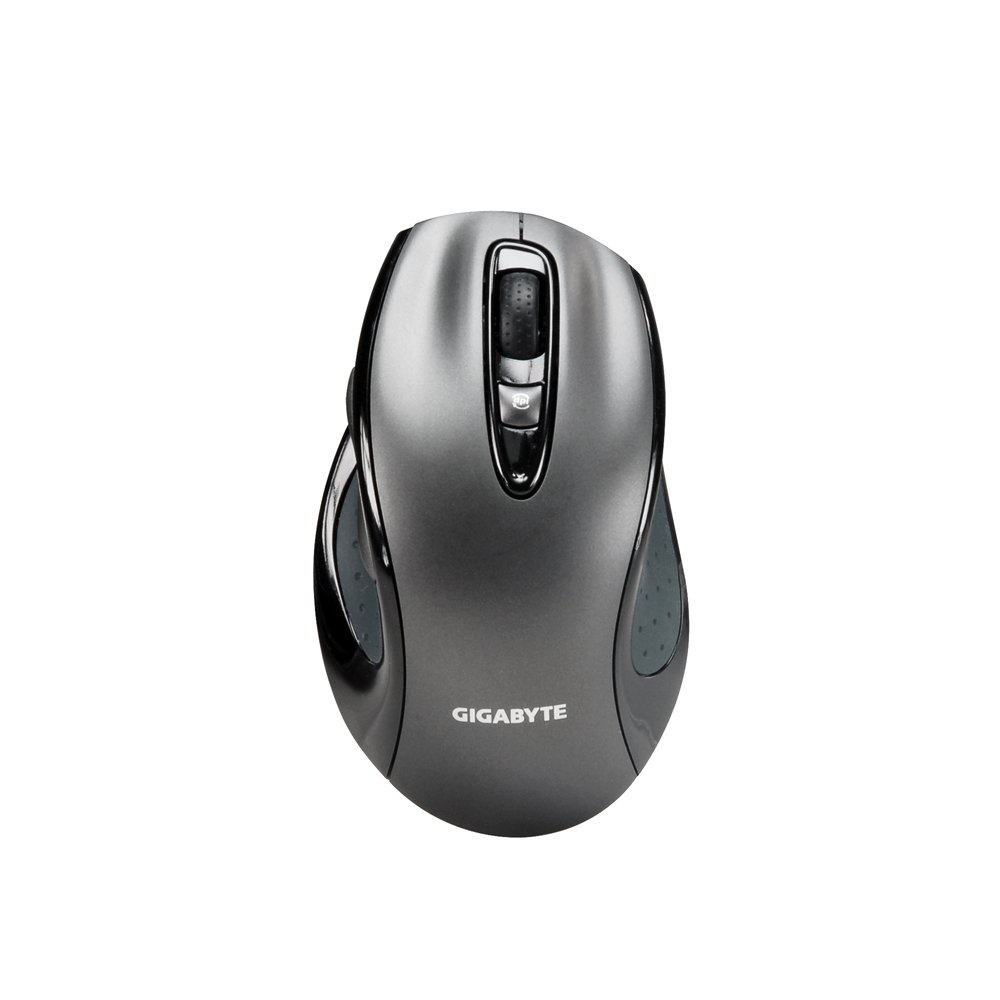 Gigabyte Dual Lens Gaming Mouse with 1600 DPI High-Definition Optical Tracking (GM-M6800)