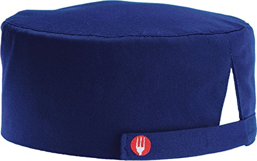 Chef Works Unisex Chef Beanie, Royal, One -