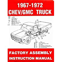 Amazon gm chevy chevrolet truck pickup books step by step chevrolet gmc trucks pickups 1967 1968 1969 1970 1971 1972 factory assembly manual includes all c and k series pickups panel suburban fandeluxe Images