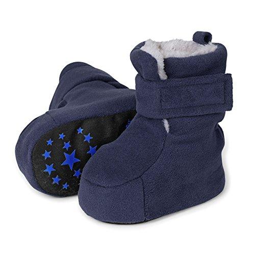Sterntaler Schuh - Zapatillas de casa Bebé-Niñas Azul - Blau (Marine 300)
