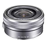 Sony SELP1650 16-50mm Power Zoom Lens (Silver, Bulk Packaging)