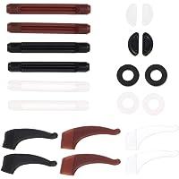 SOLUSTRE Suporte de orelha para óculos, macio, confortável, antideslizante, gancho para orelha, óculos de sol para uso…