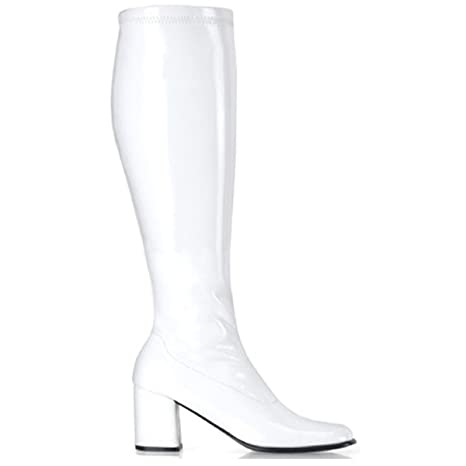 amazon gogo 3 stretch knee high boots shoes 70s Shoes