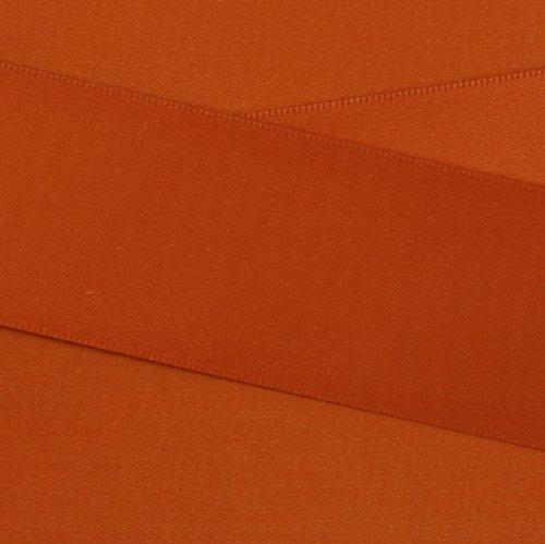 Kel-Toy Double Face Satin Ribbon, 1.5-Inch by 50-Yard, (Rust Satin Ribbon)