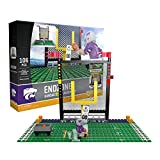 OYO NCAA Kansas State Wildcats End Zone Set Gen 2 Buildable Kit, Small, Black