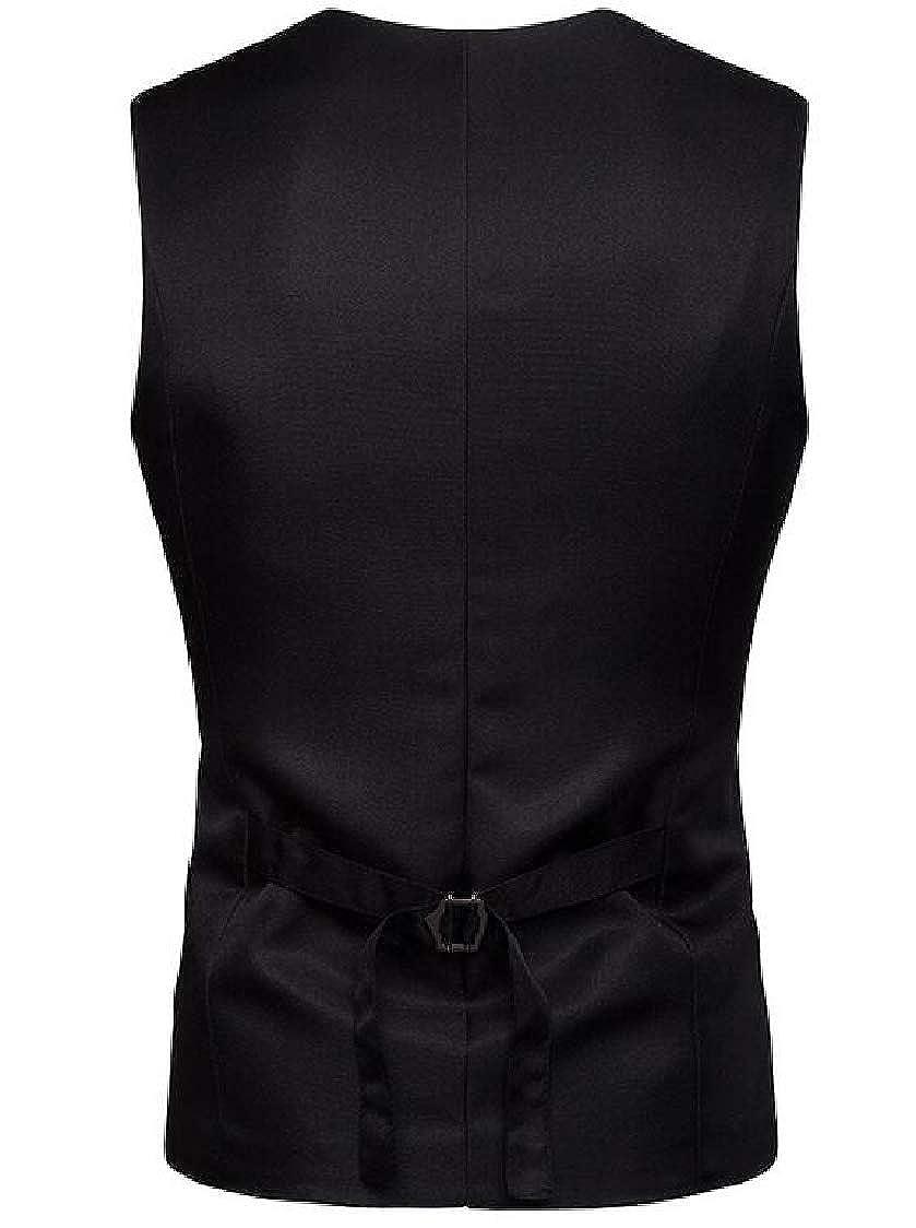 MOUTEN Men Sleeveless Business Waistcoat Single Breasted Casual Dress Vest
