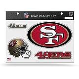 bling 49ers license plate frame - NFL San Francisco 49ers Bling Team Magnet Set