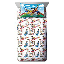 Disney Mickey Mouse Club House 'Play' 3 Piece Twin Sheet Set