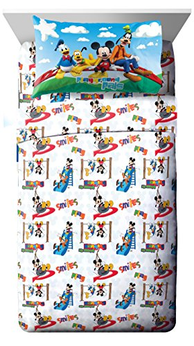 Disney Junior Mickey Mouse Clubhouse Play 3 Piece Twin Sheet