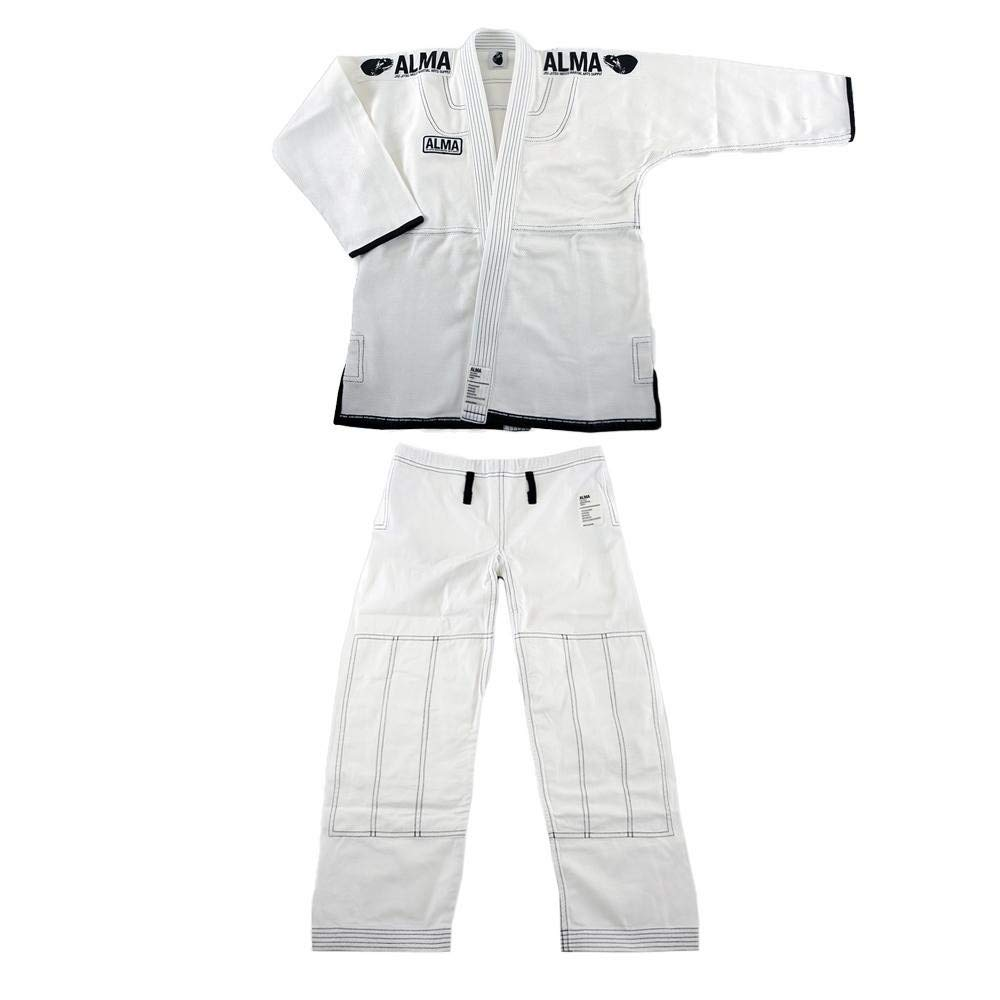 SUPERNOVA JIU-JITSU WEAR JU3-A1-WH スーパノヴァ コンペティションキモノ A1 WEAR 白 白 上下セット JU3-A1-WH B07Q13NXK3, Chargespeed official store:c0f90c00 --- capela.dominiotemporario.com
