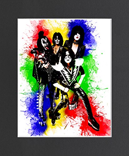 Kiss Exclusive Artwork by