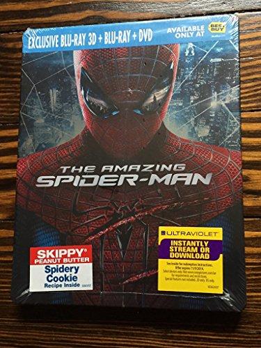 The Amazing Spider-Man 3D [Blu-ray Steelbook]