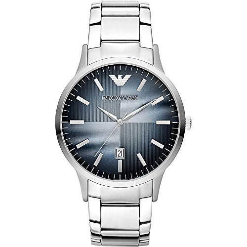 Emporio Armani Men's AR2472 Dress Silver - Armani Emporio 2014