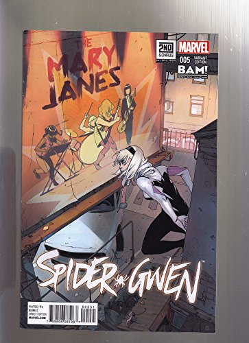 1992 Marvel Spider - MARVEL COMICS SPIDER GWEN #5 BAM BOOKS A MILLION 2ND & CHARLES EXCLUSIVE VARIANT