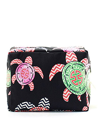n-gil-large-travel-cosmetic-pouch-bag-sea-turtle-multi-black